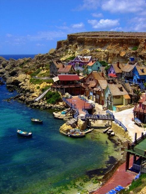 Popeye Village. Malta